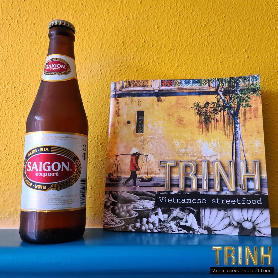 Gratis Saigon Bier bij elke bestelling