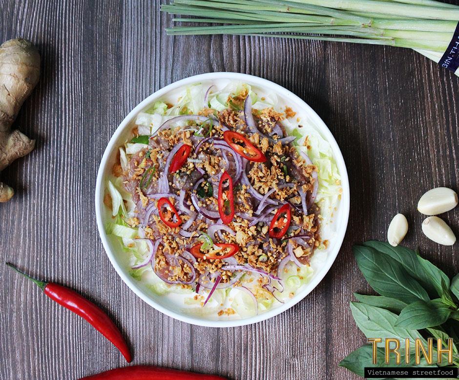 Nieuw: Vietnamese beef carpaccio